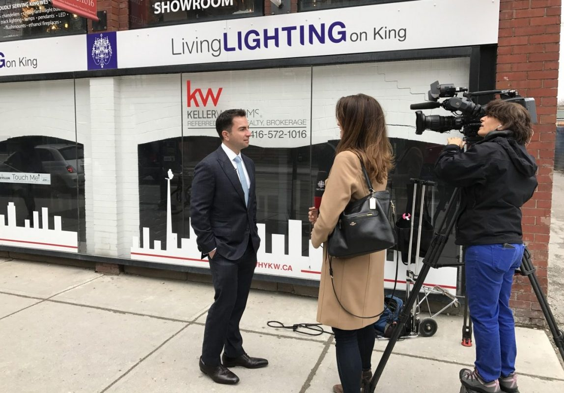 On April 19, 2017 Andrew speaks to CBC on recent changes regarding foreign buyers purchasing in the GTA
