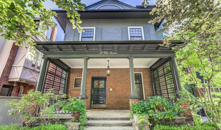 Two bids for Rosedale home near private school.