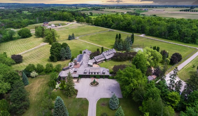 A $7.5M family retreat on 45 acres in north Pickering: Home of the week